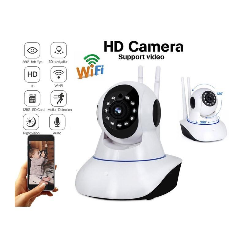 Έγχρωμη Ρομποτική IP Κάμερα WIFI με Νυχτερινή Λήψη