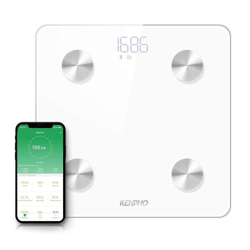 29.9 - Επαναφορτιζόμενη Ζυγαριά Μπάνιου με Καταγραφή Δεδομένων μέσω Bluetooth