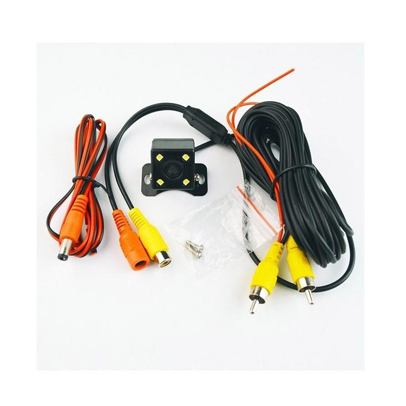 Αδιάβροχη Κάμερα Οπισθοπορείας με Νυχτερινή Λειτουργία 4 LED