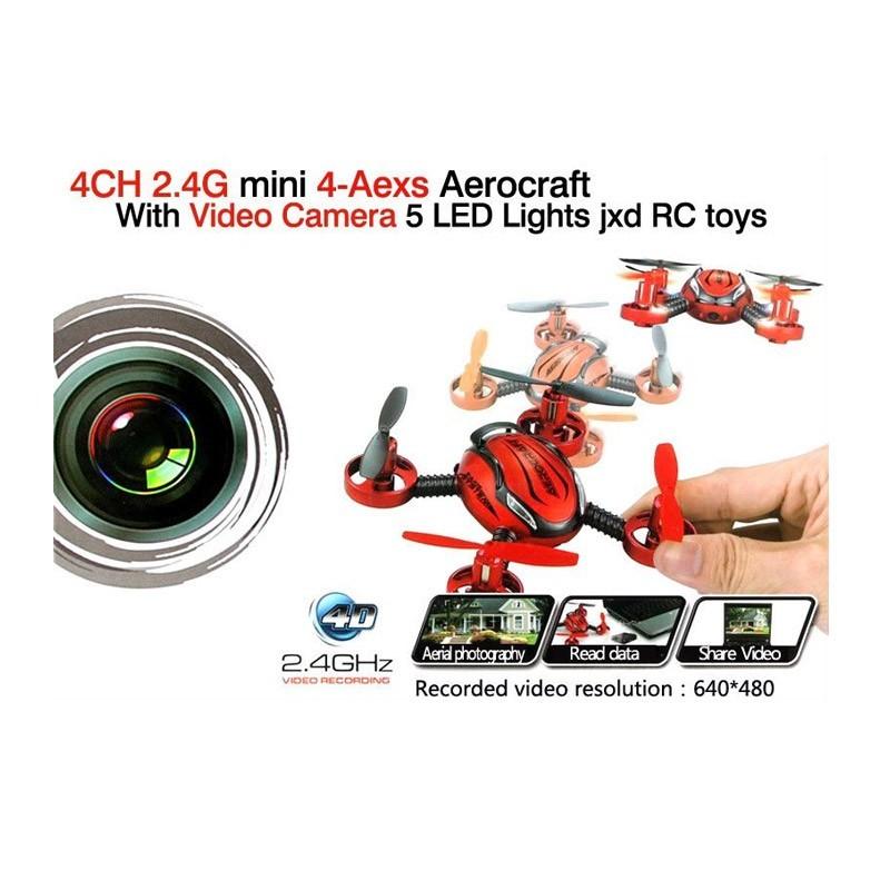 Τηλεκατευθυνόμενο Ελικόπτερο - Κάμερα Mini Drone 6 Axis Gyro