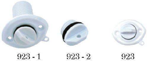 10.25 - Τάπα Στεγανών Οβάλ Νάιλον Μήκους 27mm - Σετ Των 5 Τεμαχίων