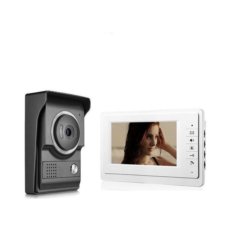 """119.9 - Έγχρωμη Θυροτηλεόραση - Θυροτηλέφωνο με Μόνιτορ 4,3""""και Κάμερα Νυχτερινής 'Ορασης RL-043F"""
