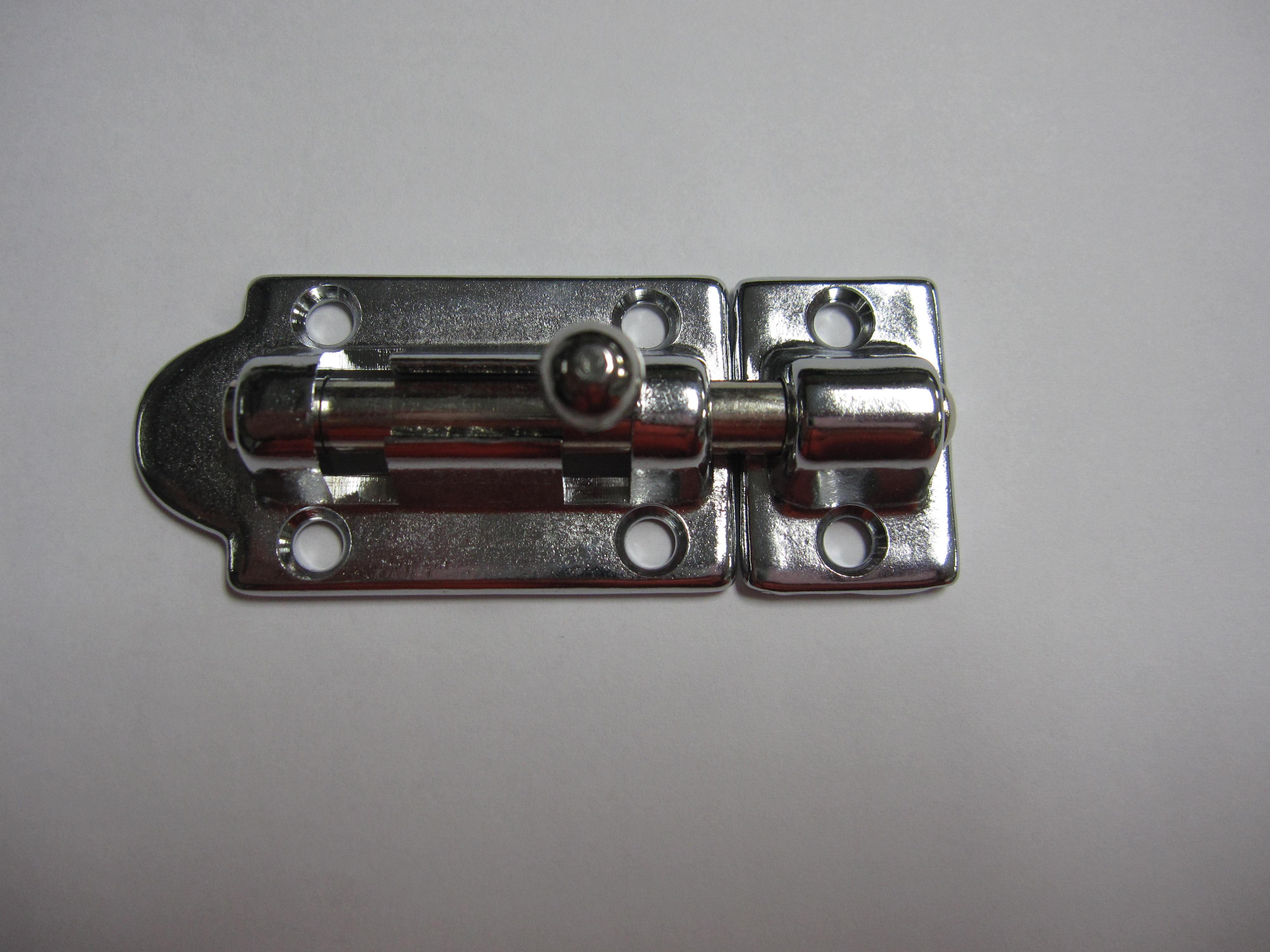 9.24 - Σύρτης Ορειχάλικινος Χρωμιομένος Ασφάλειας 72mm x 30mm