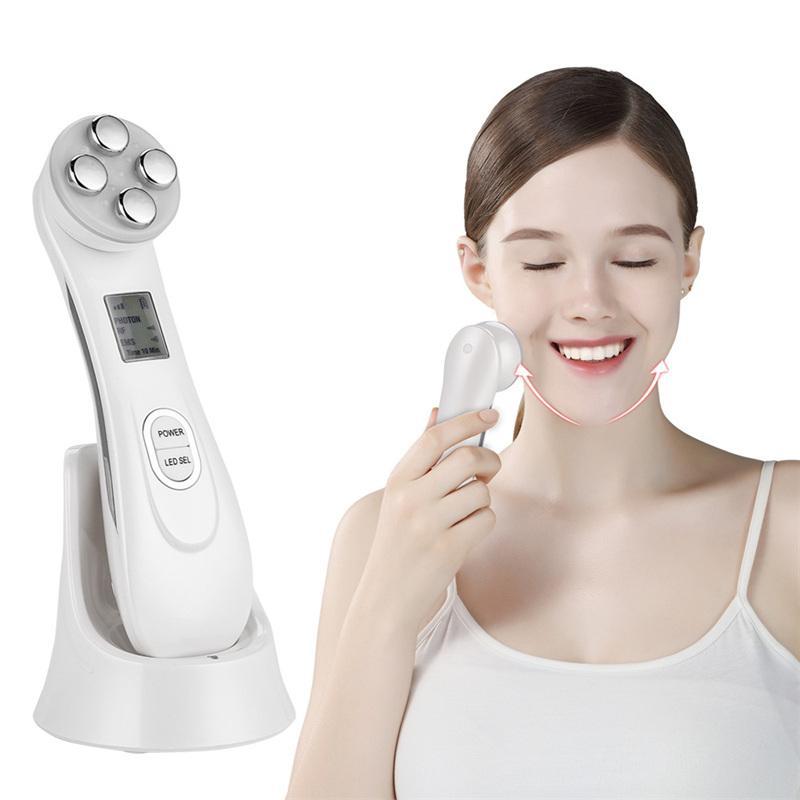 69.9 - Συσκευή RF/Μεσοθεραπείας 5 σε 1 LED Φωτοθεραπείας Anti-Aging Beauty Instrument