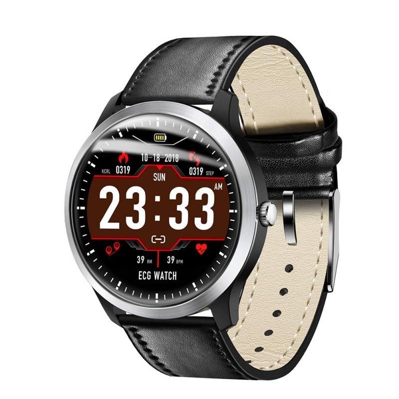 84.9 - Έξυπνο Ρολόι με Ζωντανό Καρδιογράφημα, Μέτρηση Παλμών, Βημάτων, Θερμίδων, & Ποιότητας Ύπνου