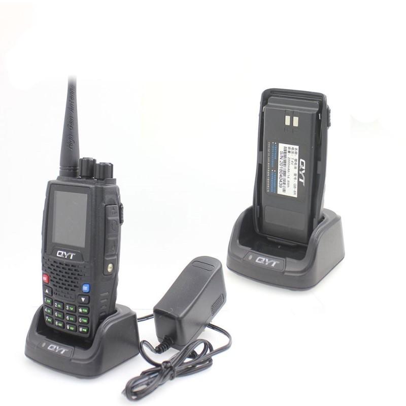 119.9 - Πομποδέκτης με Ραδιόφωνο και Έγχρωμη Οθόνη 4band 5W QYT KT-8R