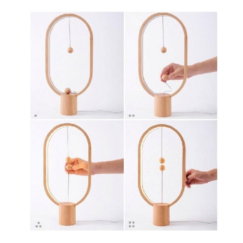 Μαγνητικό Διακοσμητικό Φωτιστικό LED Levitation Lamp