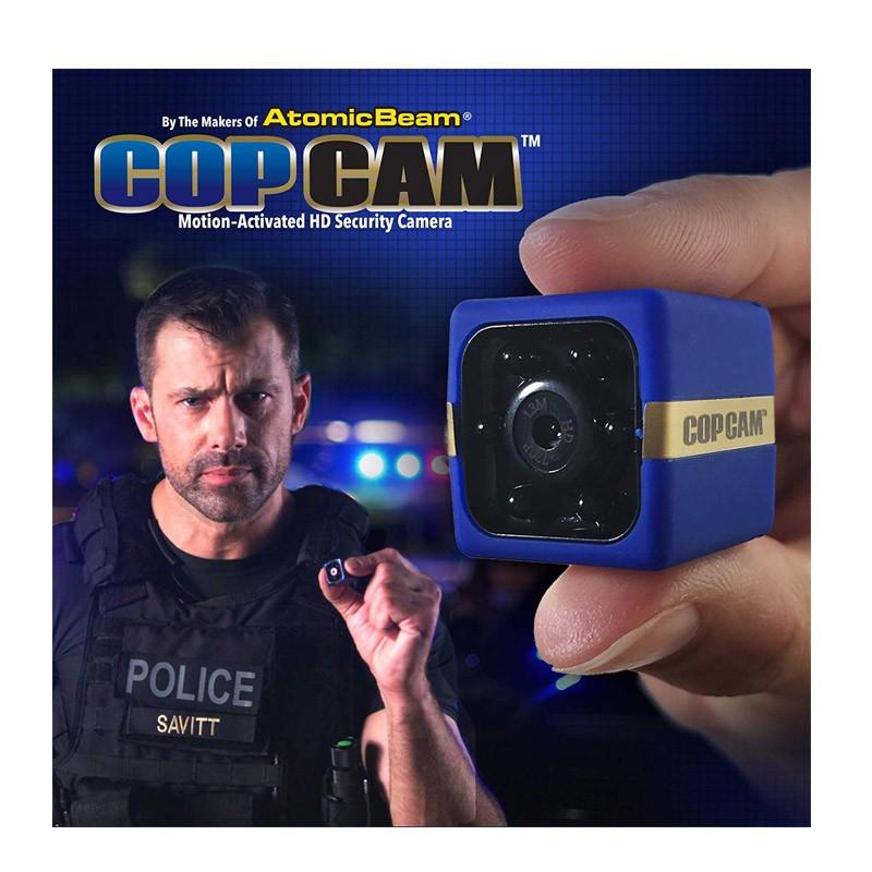 Μίνι Ασύρματη Επαναφορτιζόμενη Κάμερα Cop Cam