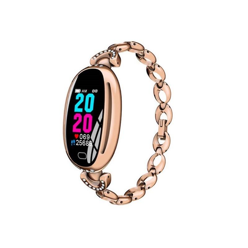49.9 - Ρολόι Bluetooth Γυναικείο με Πιεσόμετρο, Παλμογράφο, Μέτρηση Βημάτων & Ποιότητας Ύπνου