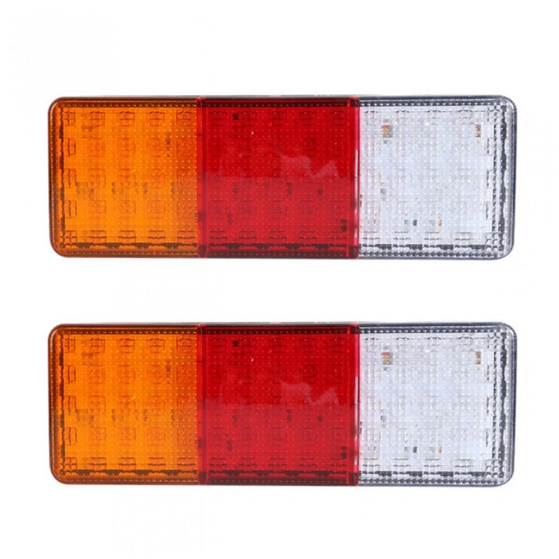 Σετ Πισινά Φανάρια για Όλα τα Οχήματα με 75 LED – 2 Τεμάχια