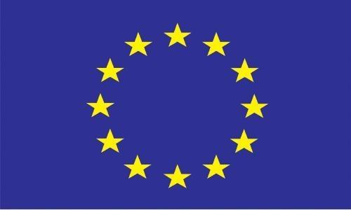 6.74 - Σημαία Ευρωπαϊκής Ένωσης Μήκους 50cm