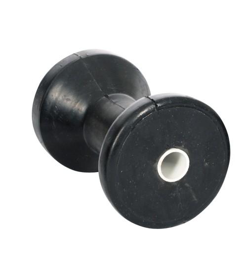 40.15 - Ράουλο Καρίνας Ελαστικό Χρώμα Μαύρο 115x85mm - Συσκευασία Των 5 Τεμαχίων