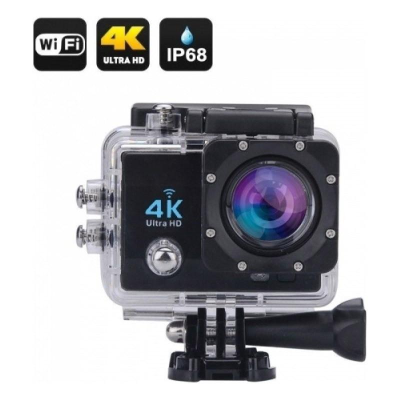"""Υποβρύχια Κάμερα με Οθόνη 2.0"""" LCD 16MP 4K και Wifi"""