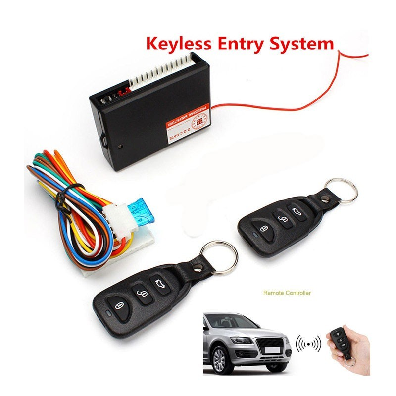24.9 - Σύστημα Κεντρικού Κλειδώματος – Ξεκλειδώματος Αυτοκινήτου με 2 Χειριστήρια