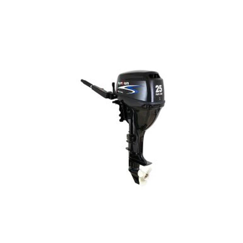 5963.7 - Εξωλέμβια Μακρύλαιμη Μηχανή Parsun 25HP Με Μίζα, Χειριστήριο, Τιλτ