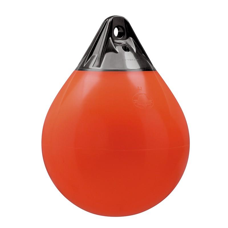 36.12 - Μπαλόνι Στρογγυλό Βαρέως Τύπου POLYFORM 50x39cm Μαύρο