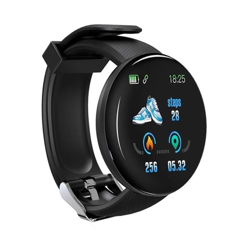 19.9 - Έξυπνο Ρολόι με Μέτρηση Παλμών, Βημάτων, Απόστασης, Θερμίδων & Ποιότητας Ύπνου
