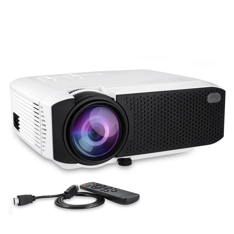 119.9 - Φορητός Προτζέκτορας Προβολής LED Home Theater HD με HDMI, VGA, USB, SD CARD