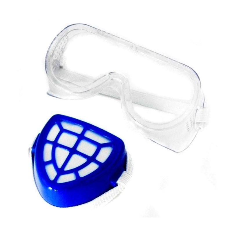 8.9 - Σετ Προστατευτικά Γυαλιά - Μάσκα Μύτης