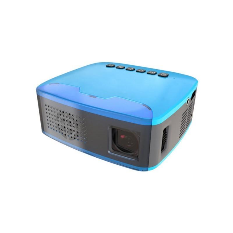 69.9 - Φορητός Προτζέκτορας Προβολής LED με Θύρες HDMI, AV, miniUSB, TF card, και Ενσωματωμένο Ηχείο