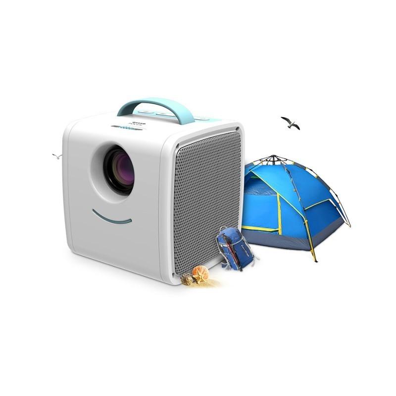 79.9 - Φορητός Παιδικός Προτζέκτορας Προβολής HD με Stereo Ηχεία (HDMI, AV, USB, SD Card)