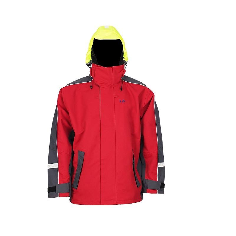 175.85 - Σακάκι Ιστιοπλοΐας Χρώματος: Κόκκινο Μέγεθος:Extra Large