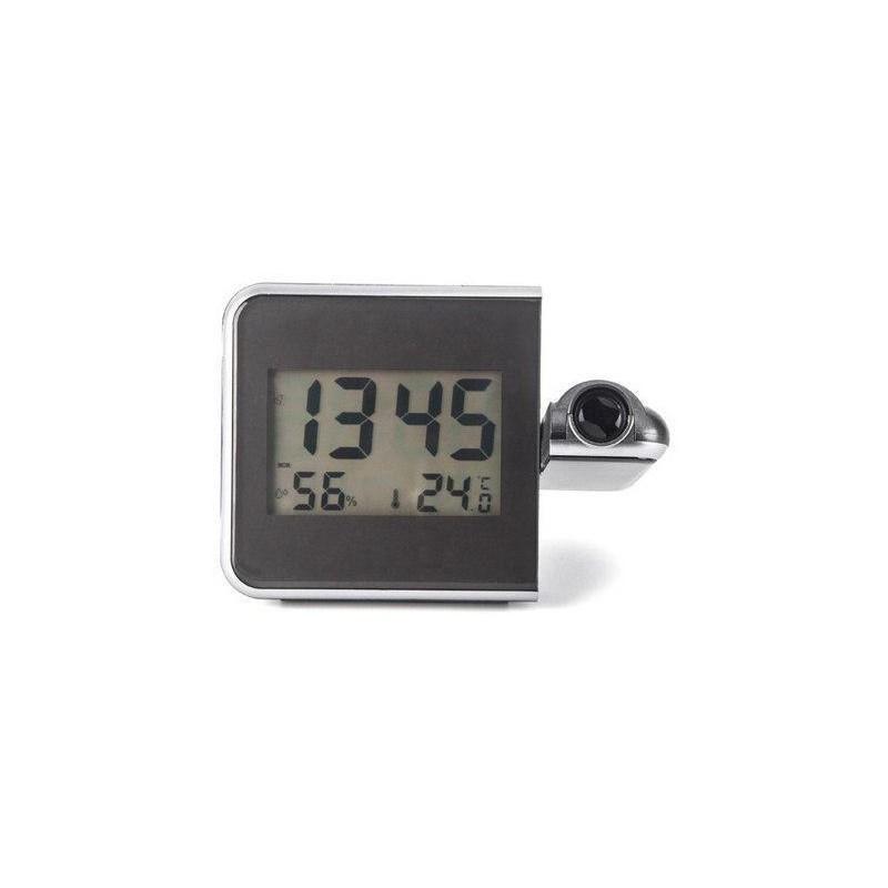 19.9 - Ψηφιακό Ρολόι Προτζέκτορας με Ξυπνητήρι, Ένδειξη Θερμοκρασίας και Υγρασίας