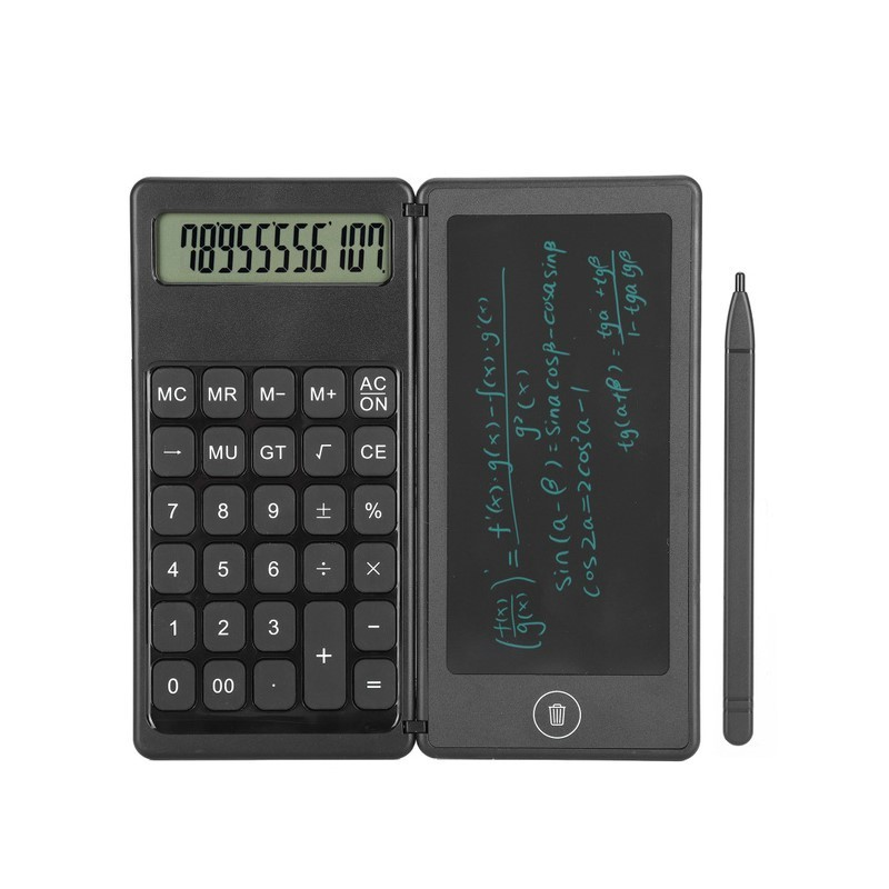22.9 - Σημειωματάριο LCD 5,5΄ με Αριθμομηχανή 2 σε 1