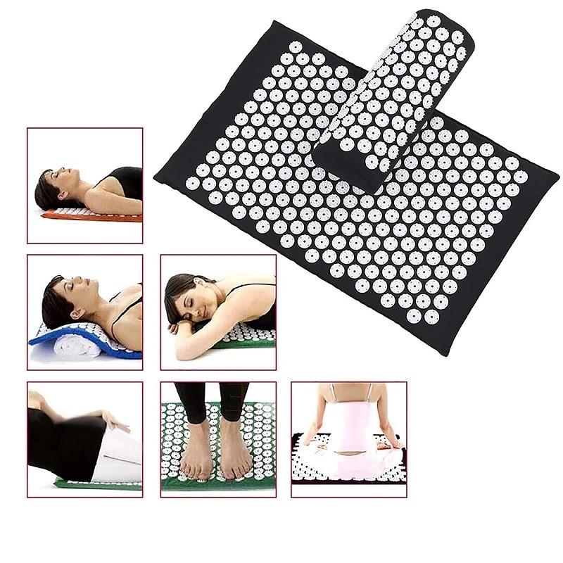 24.9 - Θεραπευτικό Στρώμα Massage Yoga Με Μαξιλάρι