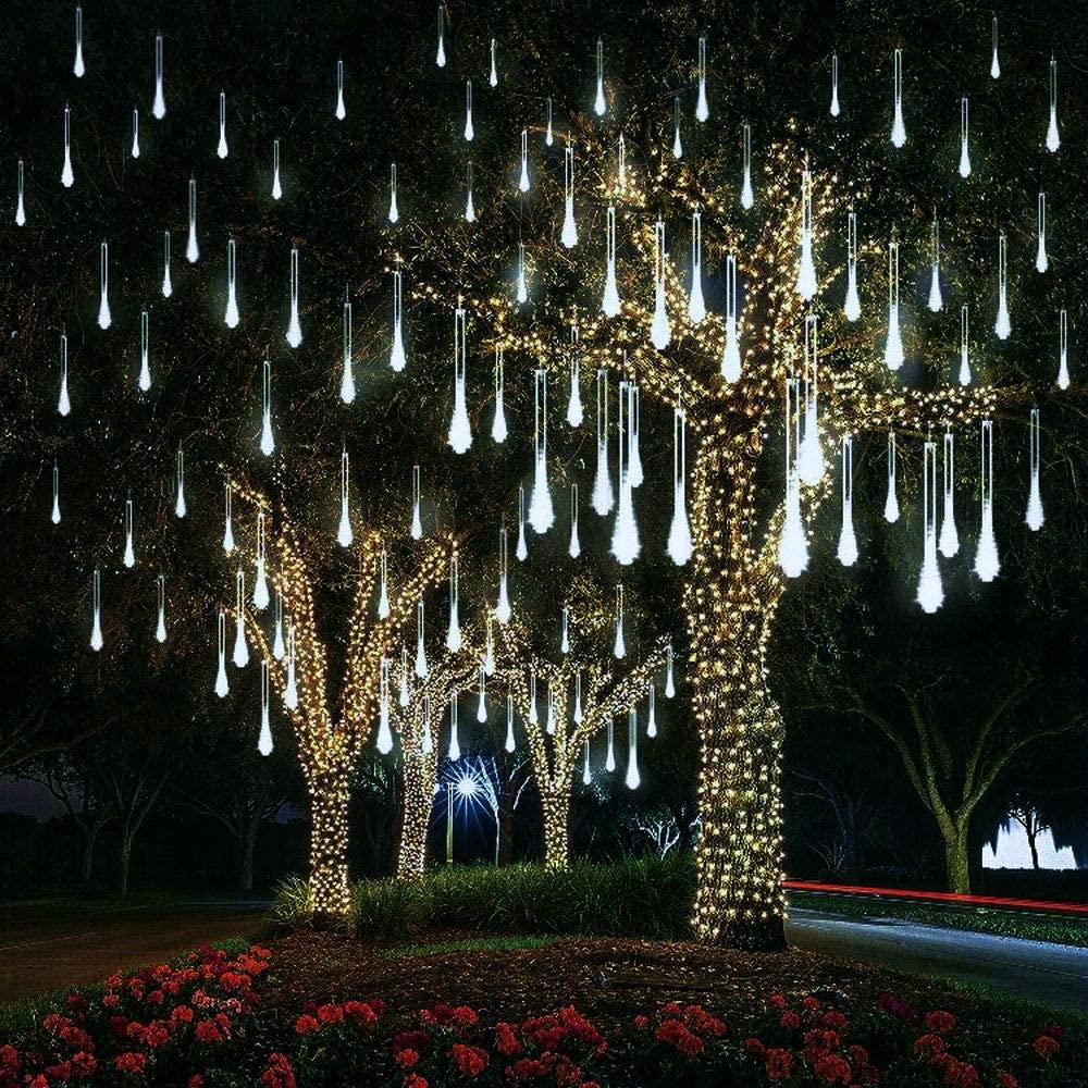 21.9 - Διακοσμητικός Φωτισμός LED Βροχή - Λευκό Ψυχρό