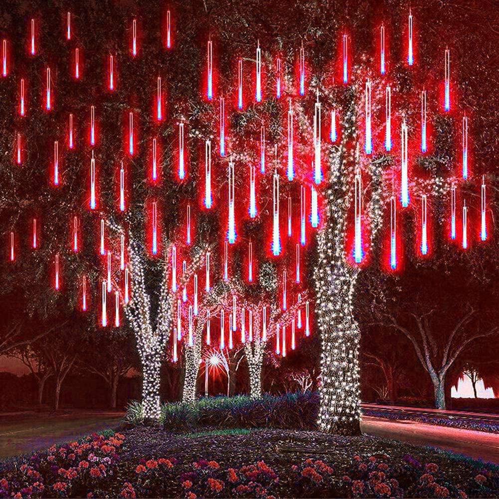 21.9 - Διακοσμητικός Φωτισμός LED Βροχή - Κόκκινο