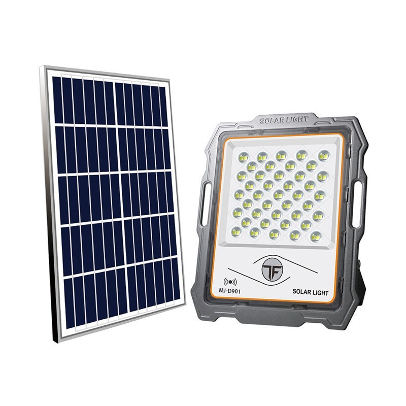 149.9 - Ηλιακός Προβολέας 100W με Κάμερα Ασφαλείας