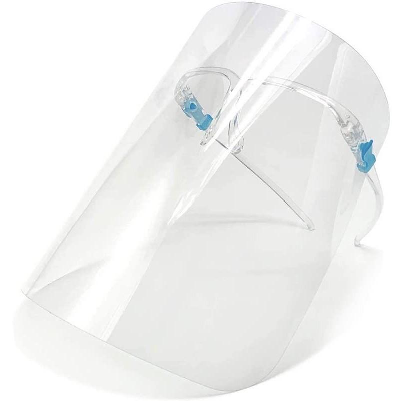 9.9 - Μάσκα Προσωπίδα Προστασίας με Σκελετό Γυαλιών - Σετ των 2 Τεμαχίων