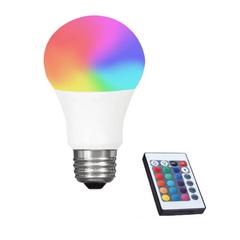 11.9 - RGB Led Λάμπα E27 3 W με Τηλεχειριστήριο Dimmer και Εναλλαγή Χρωμάτων