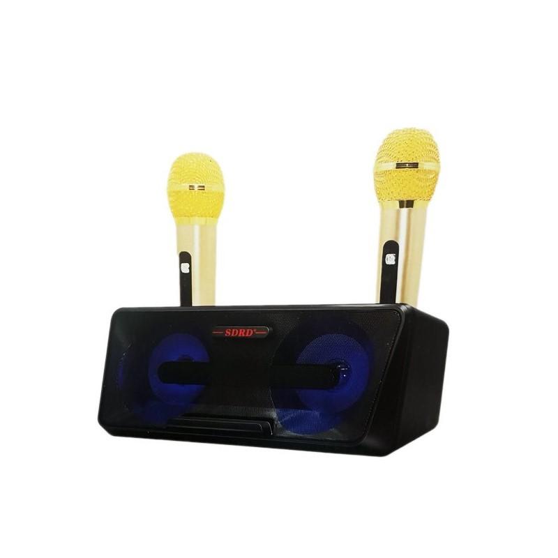 79.9 - Φορητό Ηχοσύστημα Bluetooth USB/SD Karaoke