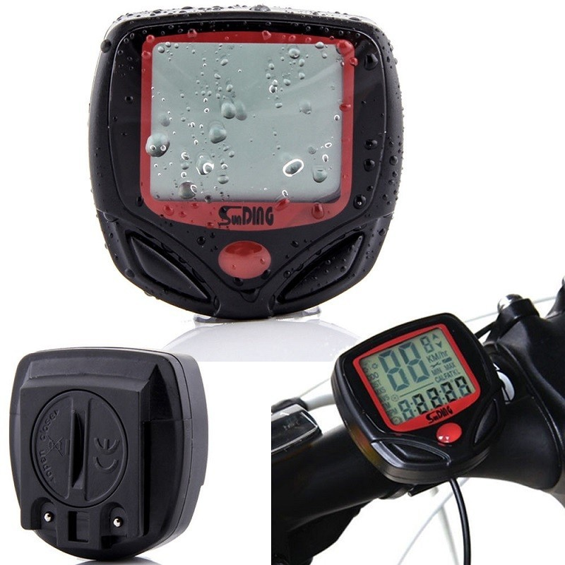11.9 - Ψηφιακό Αδιάβροχο Ταχύμετρο Ποδηλάτου
