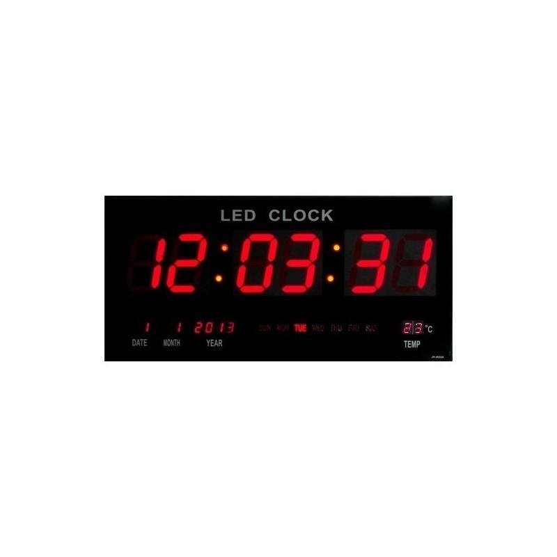 34.9 - Ψηφιακή Πινακίδα LED - Ρολόι με Θερμόμετρο και Ημερολόγιο JH-4622