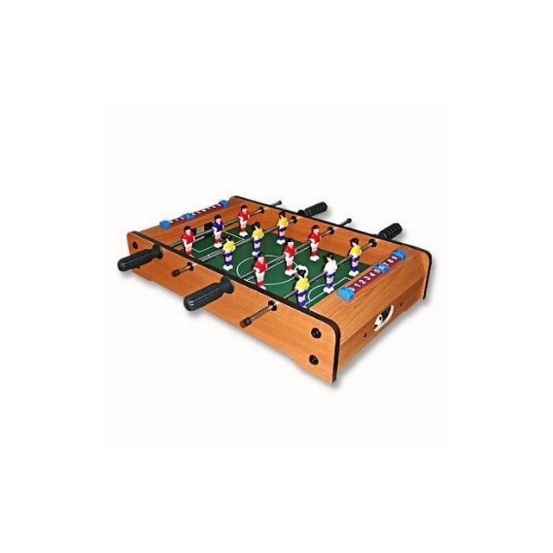 29.9 - Επιτραπέζιο Ξύλινο Ποδοσφαιράκι 50x30x10cm