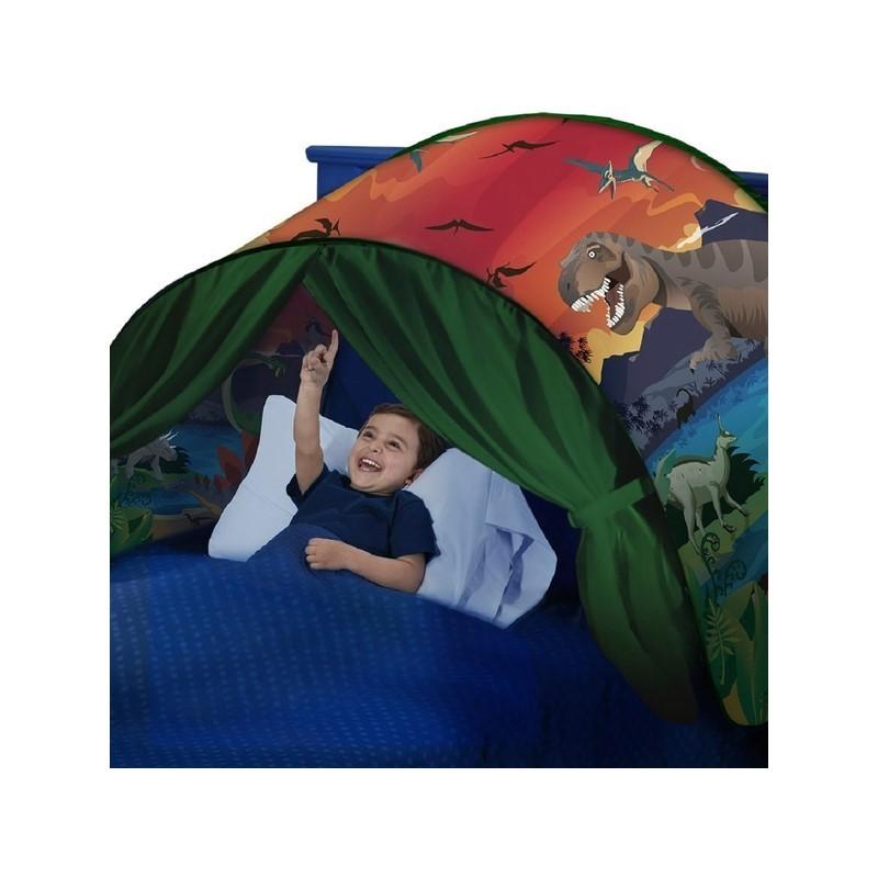 19.9 - Παιδική Σκηνή Κρεβατιού με Σχέδιο Νησί των Δεινοσαύρων