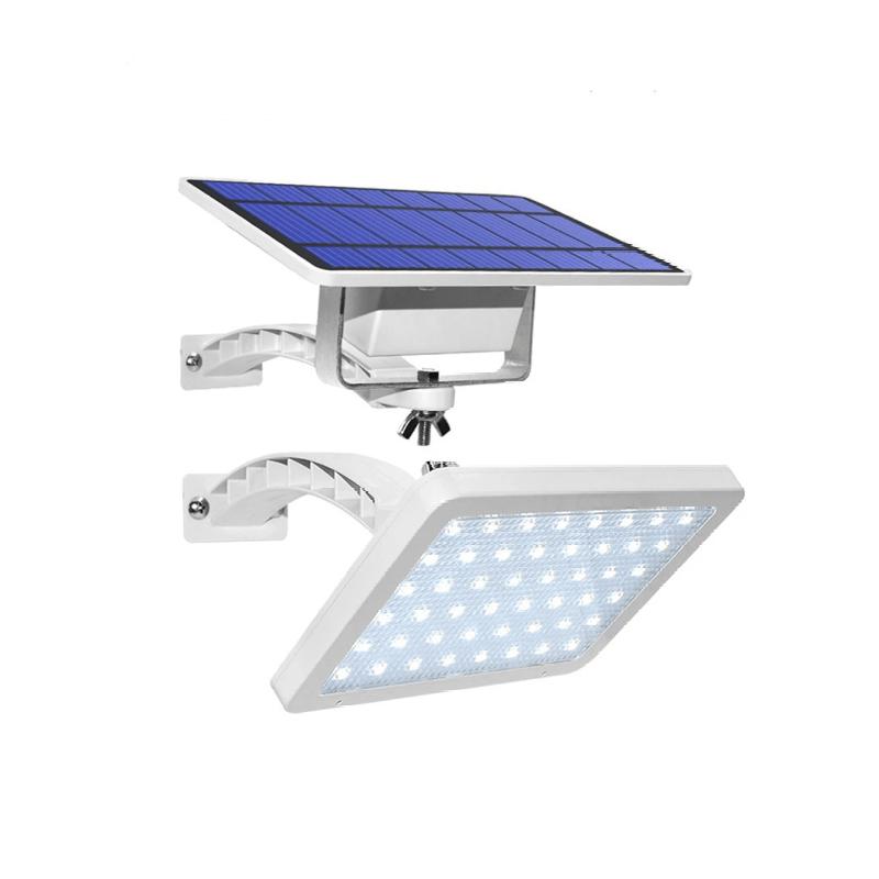 39.9 - Ηλιακός Προβολέας 48 LED με Βραχιώνα και Πάνελ