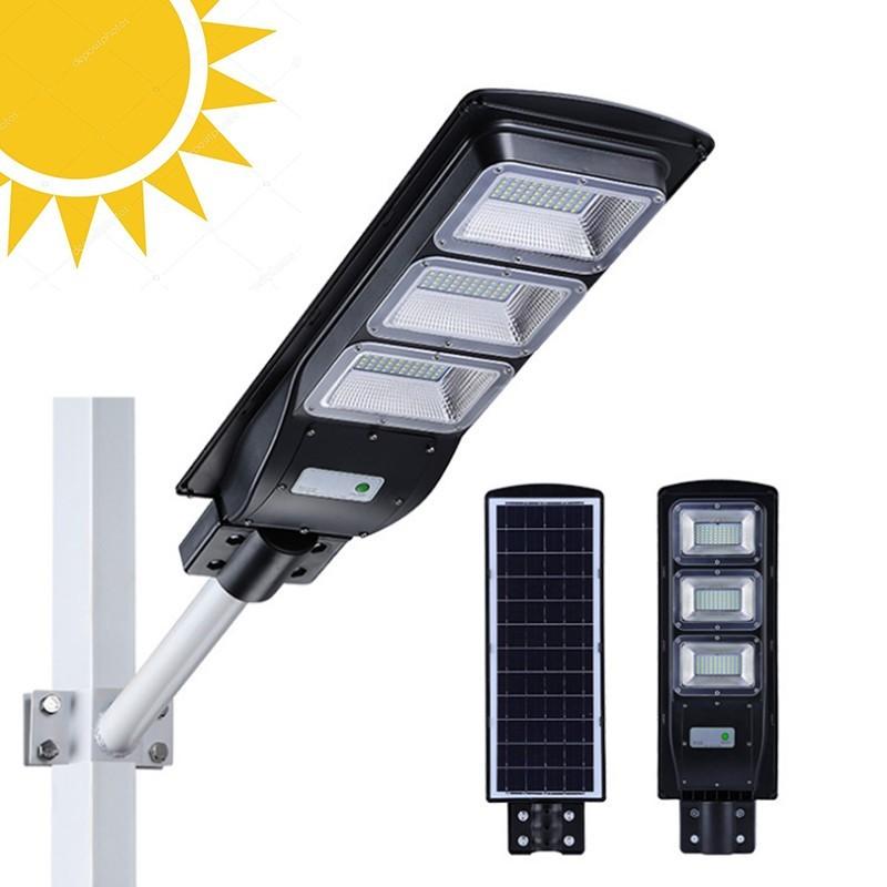 64.9 - Ηλιακό Φωτιστικό Εξωτερικών Χώρων 90W με Αισθητήρα Κίνησης και Φωτός και Τηλεχειριστήριο