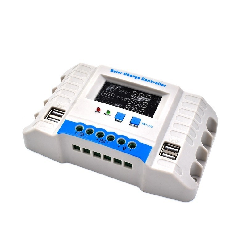 44.9 - Ρυθμιστής Φόρτισης με Οθόνη  LCD 30A 12/24V