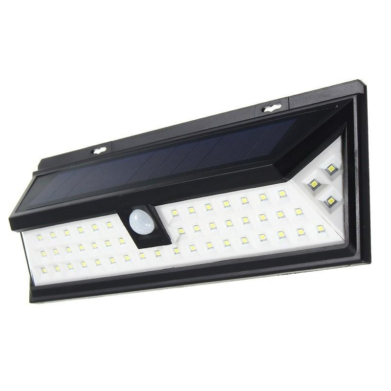 39.9 - Ηλιακό Φωτιστικό Τοίχου με Ευρεία Γωνία και 54 Φώτα LED