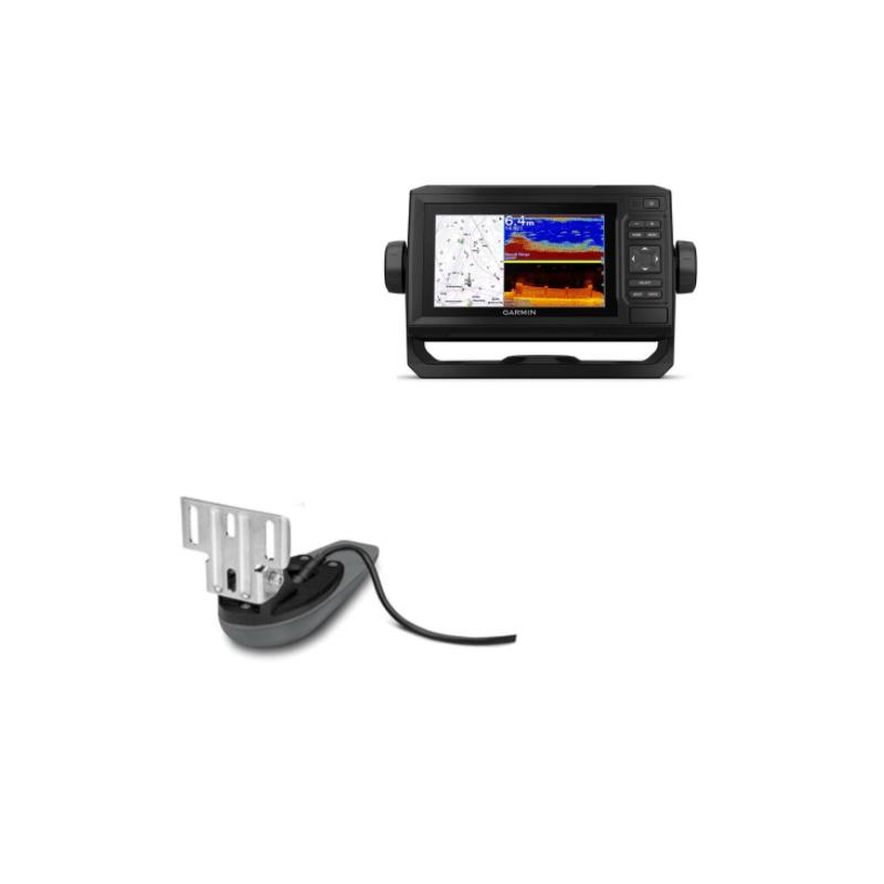 854.9 - Garmin-Echomap UHD 62cv με Χάρτη Ελλάδος G3 και Αισθητήριο GT20