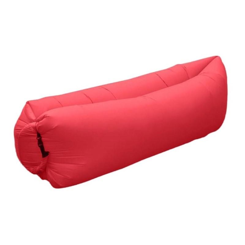 19.9 - Φουσκωτός Καναπές - Ξαπλώστρα Χρώματος Κόκκινο Air Sofa