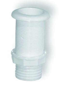13 - Υδρορροή Πλαστική Για Σωλήνα L115 x Φ42mm Λευκή