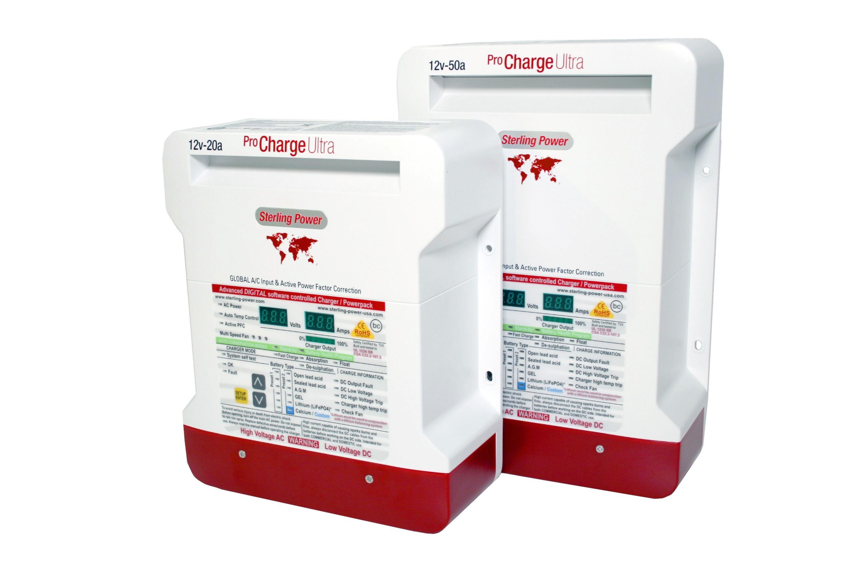 762.2 - Φορτιστής Pro Charge Ultra Με 3 Εξόδους 12V 50Amp
