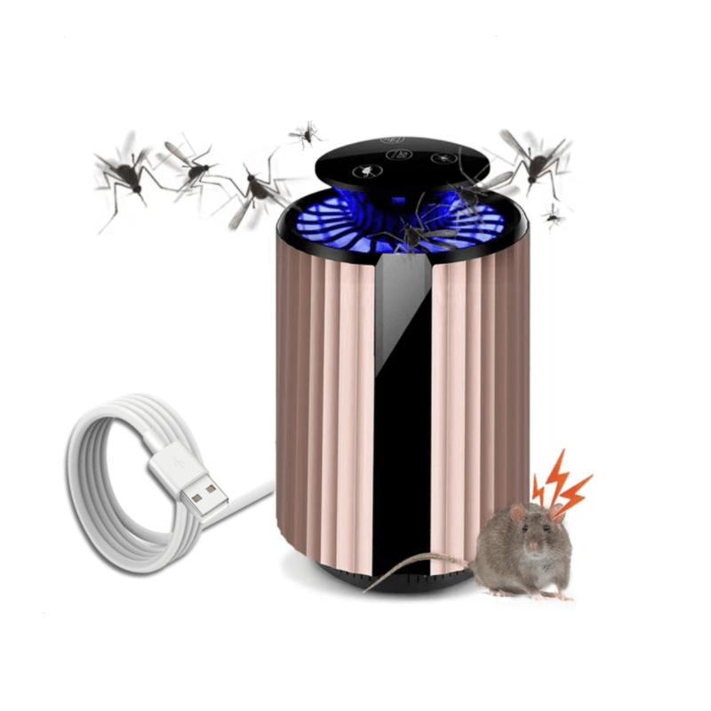 19.9 - Σύστημα Εξολόθρευσης Κουνουπιών και Ποντικιών με Ανεμιστήρα, Φωτισμό LED και Υπέρηχο