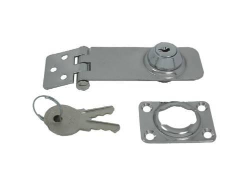 12.73 - Κλειδαριά Inox Με Κλειδί