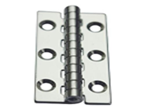 10.46 - Μεντεσέδες Inox 50mm x 40mm x 1,5mm - Σετ Των 2 Τεμαχίων